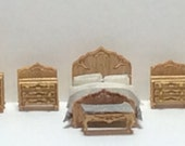 New - 144th Inch Scale Furniture Kits Victorian Style Bedroom