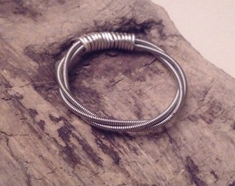 Triple Strand Guitar String Ring~Free Shipping in US