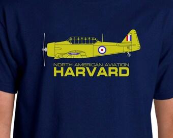 Aeroclassic North American Harvard Design T-shirt