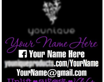 Fashion Consultant Vehicle Decal - Be-You-nique- Customizable - Vinyl Graphic