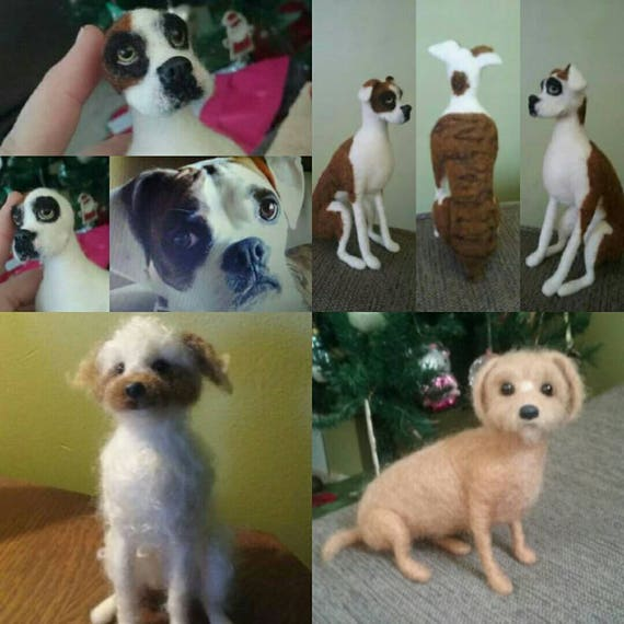Custom Dog Sculpture