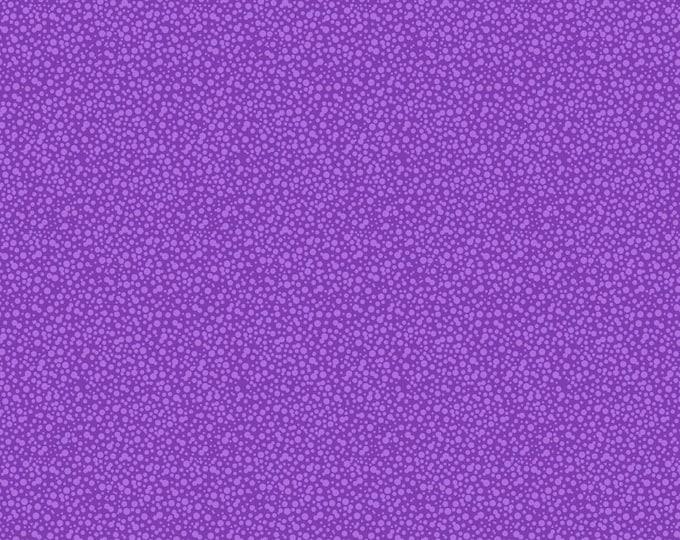 Dotties Tiny Dot Fabric by Ellen Medlock - 1 Yard Purple Lavender Tone on Tone Geometric Blender Quilting Sewing Fabric (#927P)