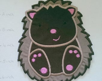 Iron On Patch Applique Echida, Hedgehog, Porcupine