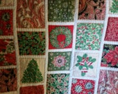 Christmas Throw or Small Blanket