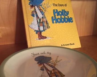 1973 Holly Hobbie Plate & 1977 Book