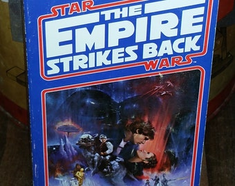 Star Wars The Empire Strikes Back First Edition by Donald F. Glut Vintage Paperback Book