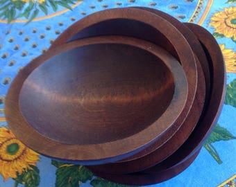 6 Vintage Baribocraft Individual Bowls, Mid Century Modern
