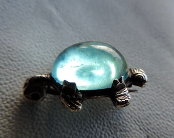 turtle pin jelly pin sterling turtle pin