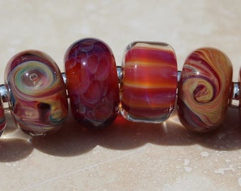 Orphans #2038 Artisan boro beads by JRG