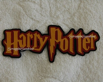 Universal Studios - Harry Potter Die Cut Title for Scrapbook Pages