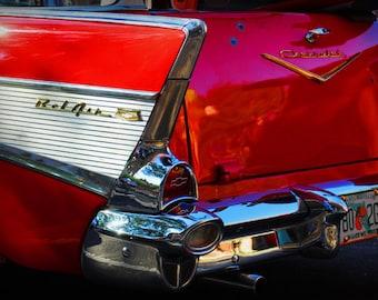 1960s Era Chevrolet Belair Station Wagon - Classic Car - Garage Art - Pop Art - Fine Art Photograph
