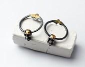 Golden Skull earrings