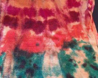 "Flat Feet Sock Blanks, Hand Painted Sock Yarn ""Cosmic Carrots"""