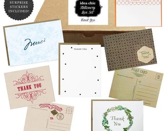 Thank You Greeting Cards - Idea Chic Stationery Box Set