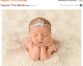 Tiara Headband NEwborn Headband Baby Headband Princess Headband Photography Prop Crown Headband Baby Girl Headband Photo Prop