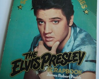 Elvis Presley Scrapbook Solid Gold Memories 1975