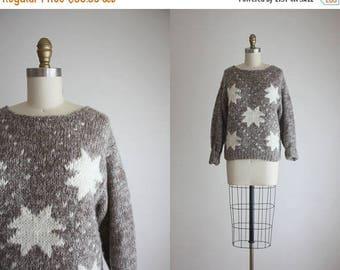 25% SALE starry night sweater