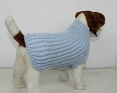HALF PRICE SALE Madmonkeyknits - Simple Fishermans Rib Dog Coat knitting pattern pdf download - Instant Digital File pdf knitting pattern