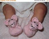 50% OFF SALE Digital file pdf download knitting pattern madmonkeyknits Baby Sugar Mouse Shoes pdf knitting pattern