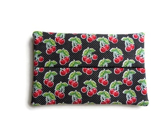 Fabric Tissue Holder - Cherries