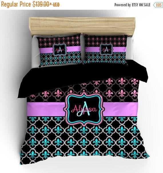 On sale pesonalized custom fleur de lis bedding by redbeauty - Fleur de lis comforter ...