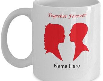 Together Forever Custom Personalized Mug