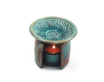 Aromatherapy Diffuser Feng Shui Essential Oil Handmade Ceramic Pottery