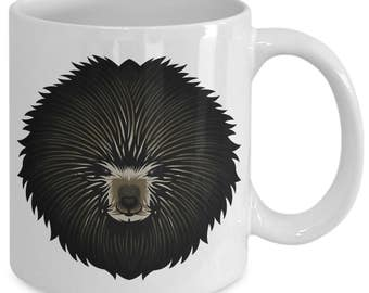 Porcupine Spiny Rodent Quill Coffee Mug
