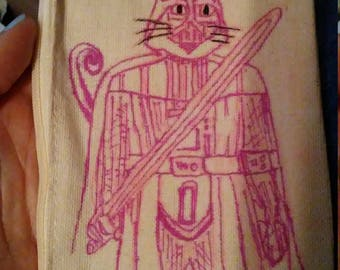 cat vader canvas pouch