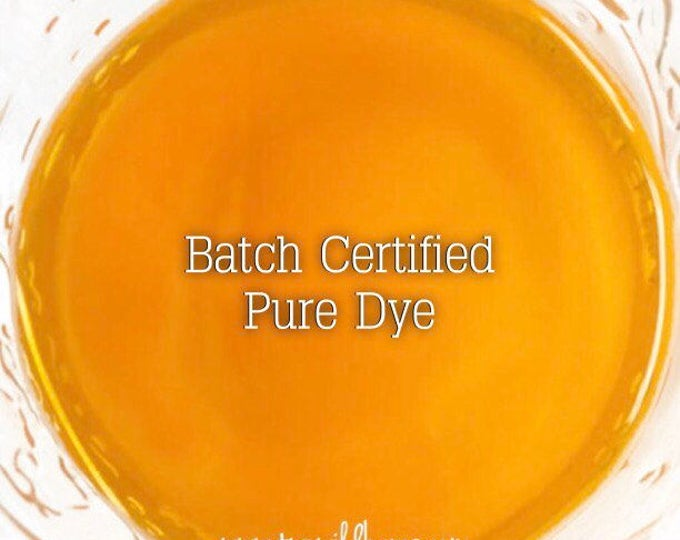 CLEMENTINE Batch Certified FD&C Yellow 6, Water Soluble 93% PURE Dye, Cosmetic Colorant, 1 oz