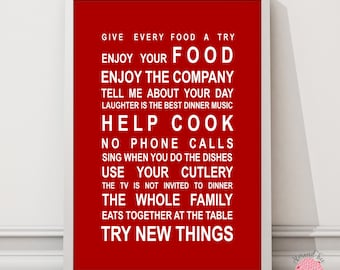 Kitchen Rules print