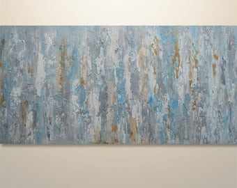 Abstract Painting, Palette Knife Painting, Abstract Wall Art, Home decor, Modern Painting, Art, Acrylic, Wall Art, Canvas Art, Gabriela Art