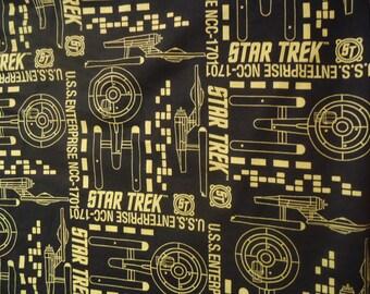 Star Trek Shirt Panel Bowling shirt  Enterprise NCC 1701