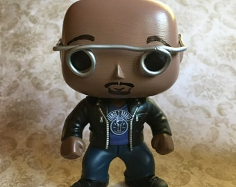 James T. Harris Custom (made to order) Hand-painted Bobble Head Pop, painted by Lauri Jon™ Studio City. (James T Pop only)