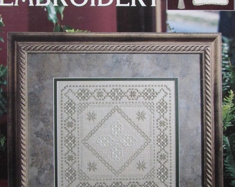 Teach Yourself Hardanger Embroidery/Counted Cross Stitch Patterns by Leisure Arts/2001/Multiple Projects