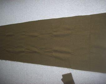 Strip of Woolen Army Blanket for Fabric Supply