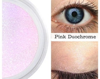 Pink Duochrome, Pink Rainbow, Highlighter, Eyeshadow, Eyes Lips Face, Iridescent Pink, Color Shift, Splendid, Pink Interference, Natural