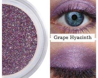 Purple Eye Shadow, Grape Hyacinth, Mineral Eye Shadow, Violet Eye Shadow,  Purple Vegan Eye Color, Cruelty Free Makeup, Natural Makeup