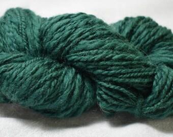 Green Handspun Yarn