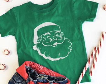 private listing for Lauren, Green Santa tee - 18 months