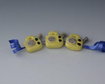 Beads, Ceramic Beads, Ceramic fRadio beads, Ceramic radio, Ceramic