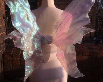 Beautiful Pink Realistic Adult Fairy Wings