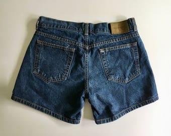 Vintage Women's 90's CK Jeans, Denim Shorts, High Waisted (S)
