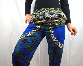 Vintage 90s Ethnic Batik Hippie Harem Pants