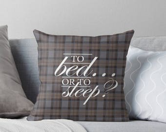 outlander cushion cover  - pillow decorative square throw pillow cushion cover