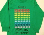 100th day of school shirt, smiley faces 100 days of school T shirt, Happy 100th day, smiley faces tee, school shirt, 100th day celebration
