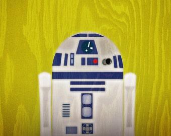 R2D2 STAR WARS 11x14 print