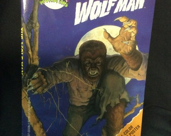 Golden Books Universal Monsters Novelization The Wolfman - 1993