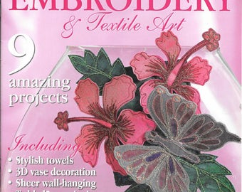 Creative Machine Embroidery & Textile Art  Magazine