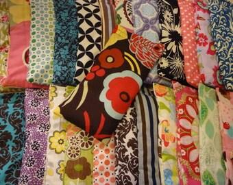 25 Wholesale Lavender Rice or Flaxseed Eye Pillows -Designer Fabrics, Aromatherapy Eye Masks Organic